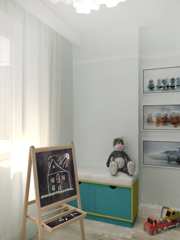 детская, интерьер детской комнаты. дизайн детской, детская в голубых тонах,комната для мальчика