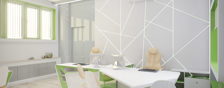 Офис в Футуристичном Стиле, дизайн интерьера, дизайн офиса под ключ, интерьер офиса, интерьер офиса в современном стиле