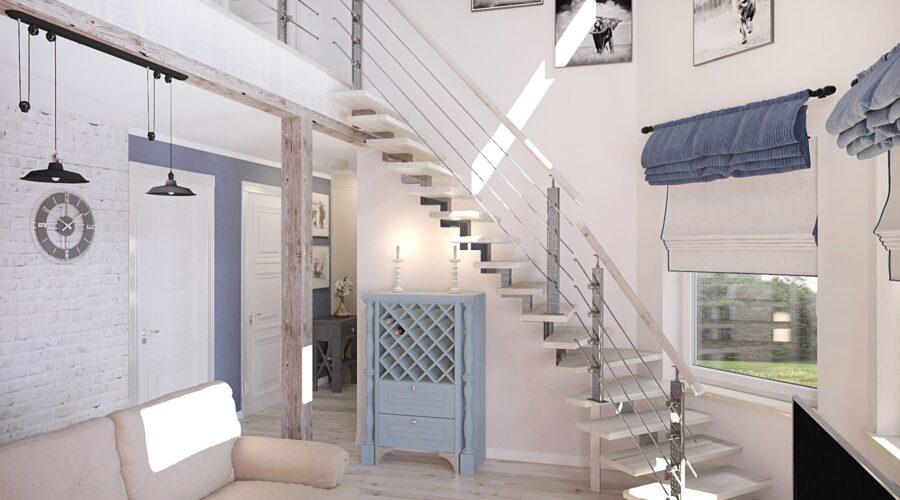 дизайн интерьера, дизайн на даче, дизайн-проект под ключ, кирпич в интерьере