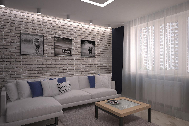 дизайн интерьера, дизайн гостиной, дизайн для маленькой квартиры