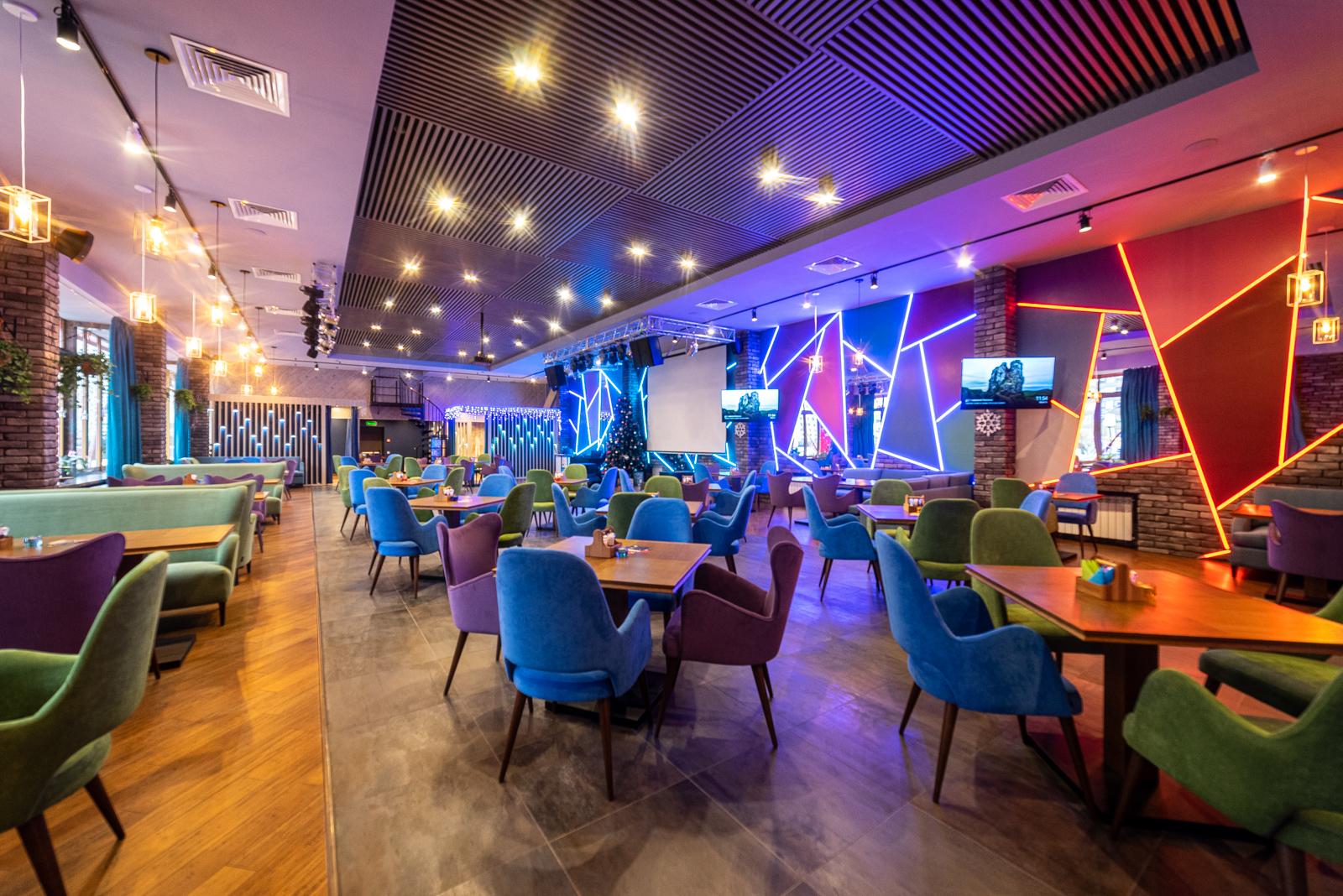 ресторан-бар, проект ресторана под ключ, дизайн ресторана в стиле лофт, дизайн ресторана под ключ, дизайн коммерческих помещений, дизайн интерьера, дизайн ресторана