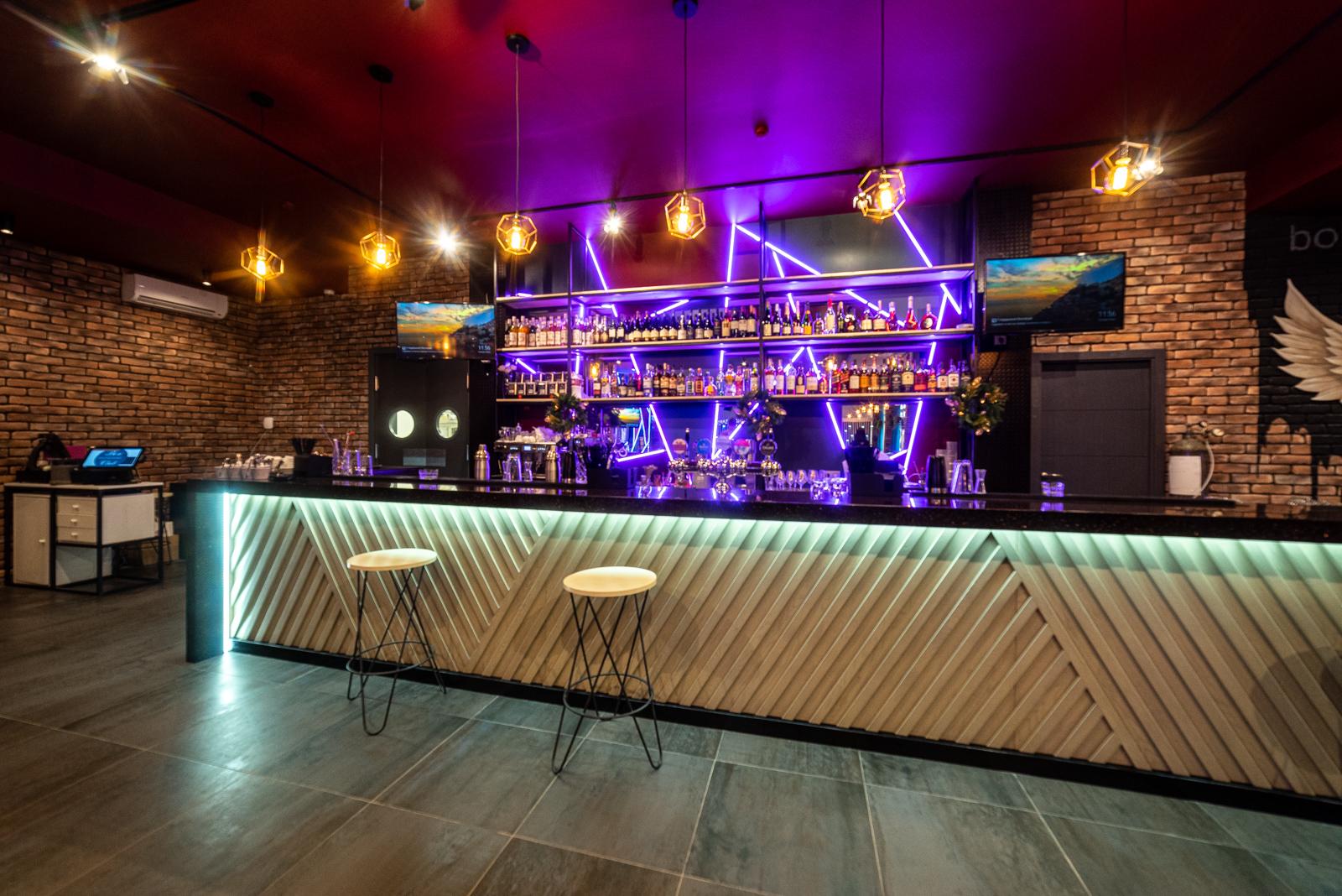 ресторан-бар, дизайн ресторана в стиле лофт, дизайн ресторана под ключ, дизайн коммерческих помещений, дизайн интерьера, дизайн ресторана